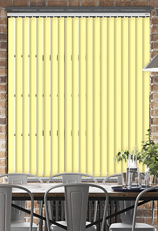 Palermo (Blackout), Yellow - Vertical Blind