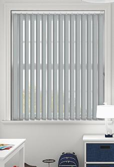 Sarra (Blackout), Slate - Vertical Blind