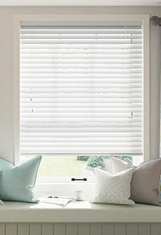 Ecowood, Pure White Satin - Venetian Blind