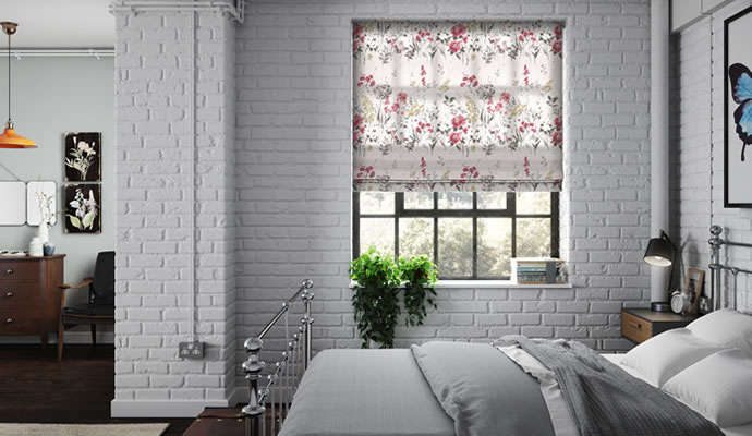 Bedroom Blinds Shutters 48Blindscouk Magnificent Roman Blinds Bedroom Collection