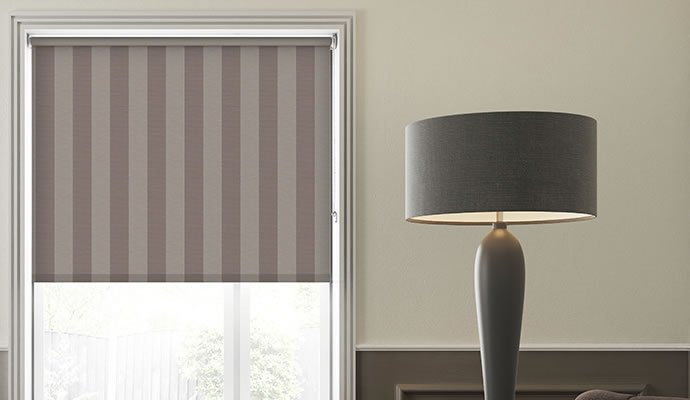 Brown Blackout Blinds
