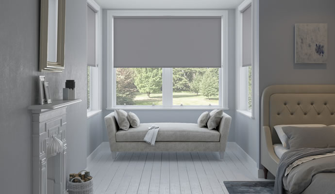 Grey Blackout Blinds
