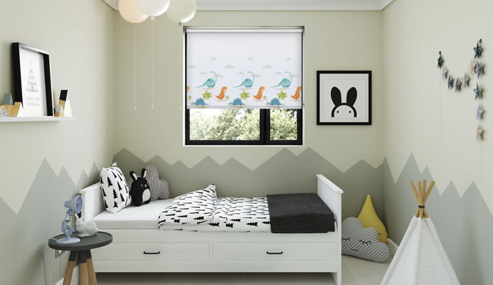 Nursery Kids Bedroom Blinds 48Blindscouk Inspiration Roman Blinds Bedroom Collection