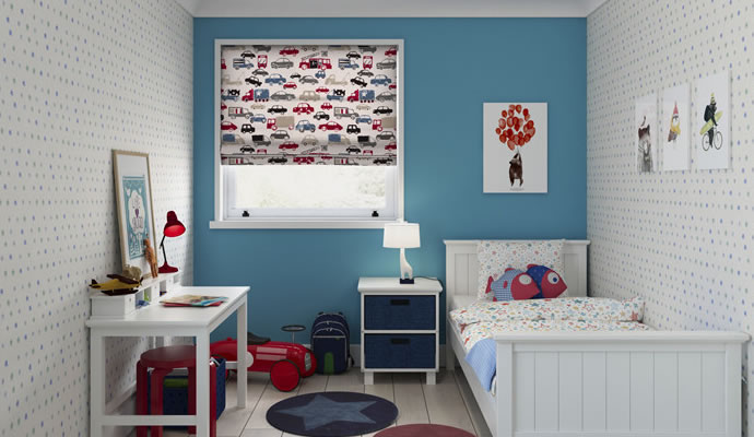 Kids Roman Blinds