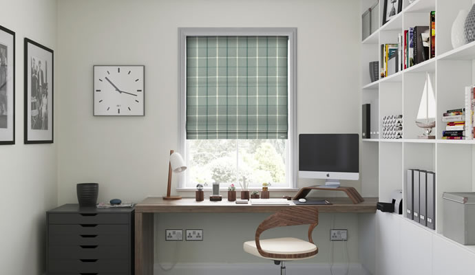 Office Roman Blinds
