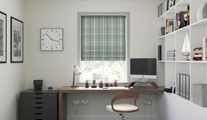 Office Roman Blinds